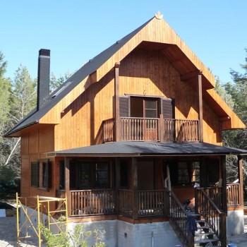Comprar casa de madera - Tocar madera casas ...