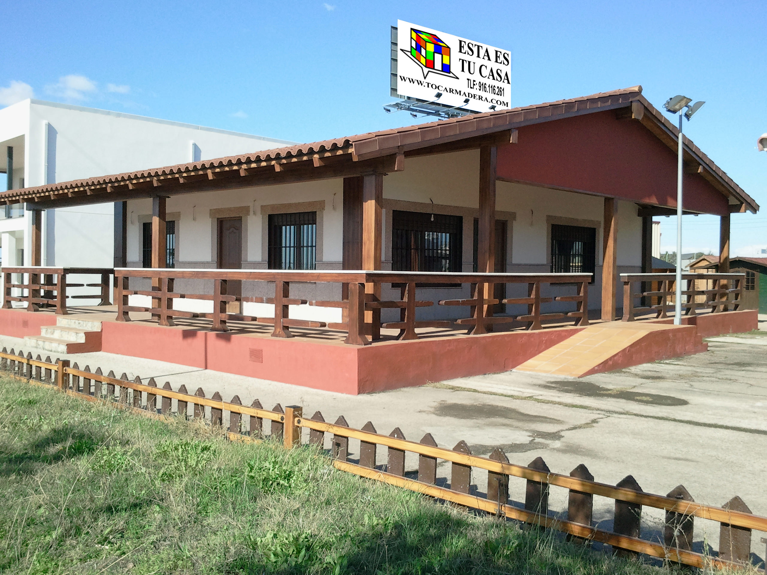 Casa de hormig n acero y piedra modelo andaluc a - Casas de acero prefabricadas ...