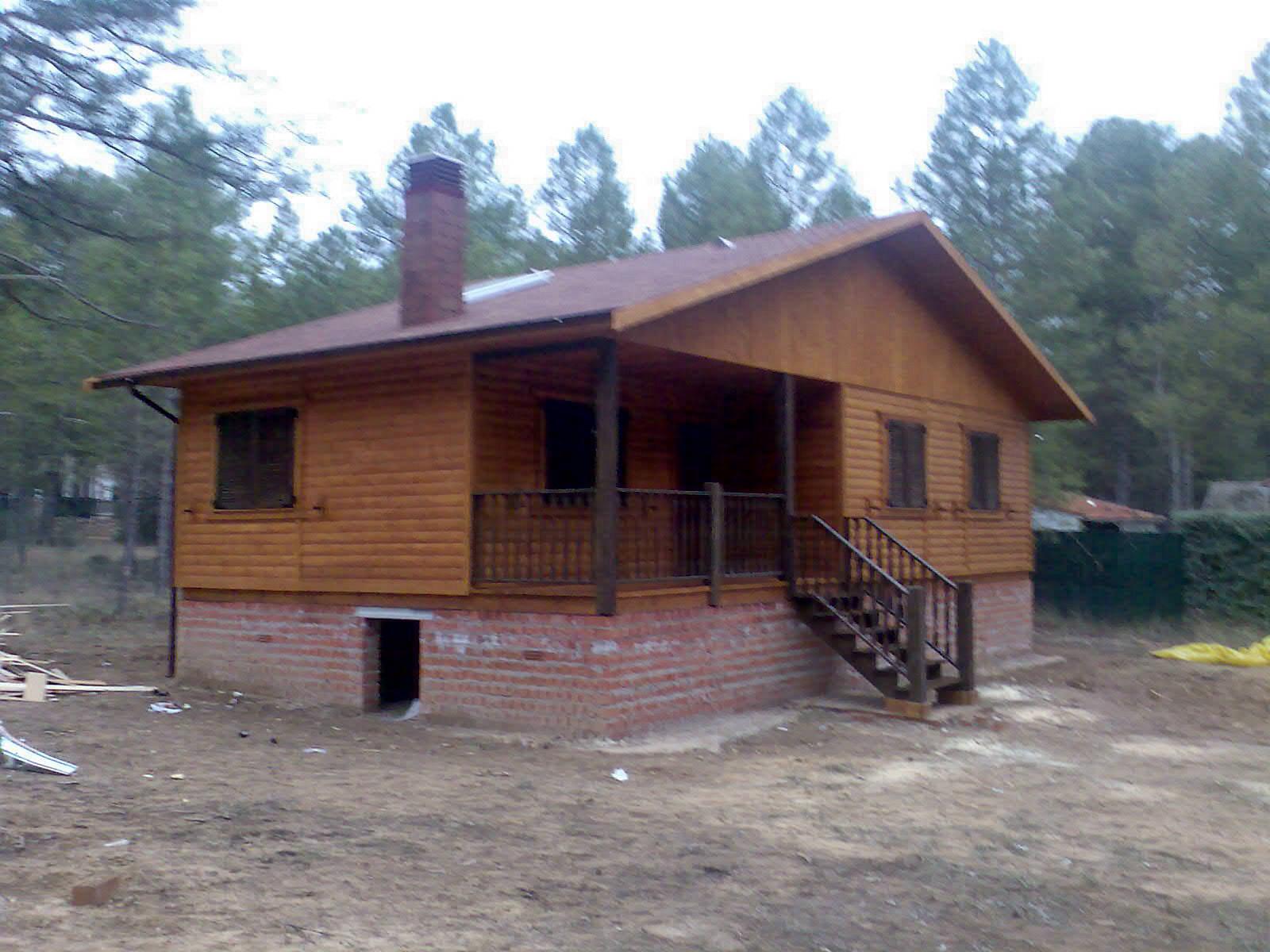 Casa de madera comprar casas de madera - Tocar madera casas ...
