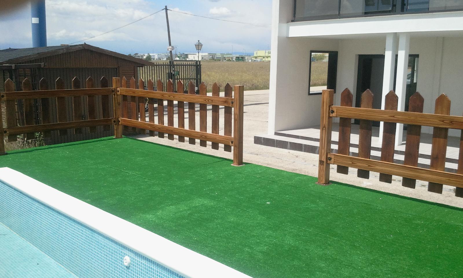 Vallas de acero y hormig n comprar casas de madera for Kit piscina hormigon