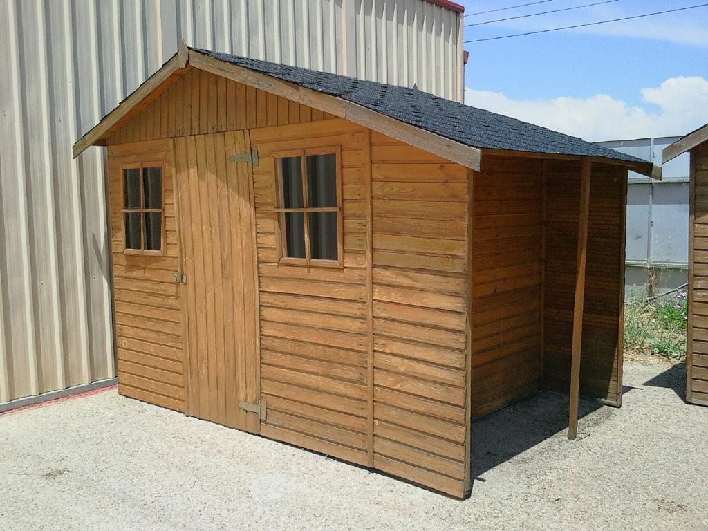 Precios casetas de jardin casas de madera de a m with for Casetas desmontables precios