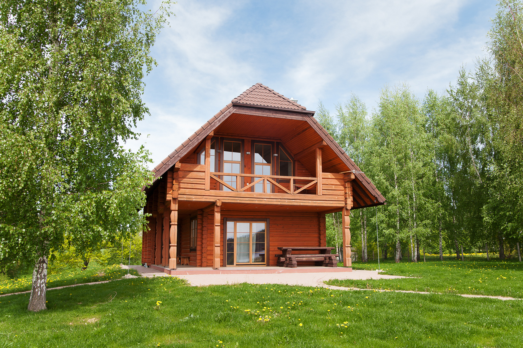 Adquiere casas de madera en madrid - Tocar madera casas ...