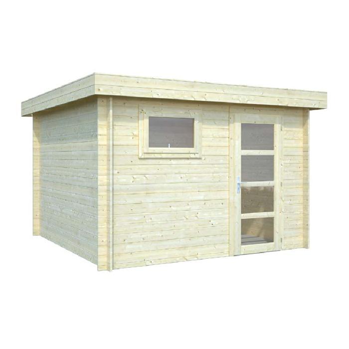 Modelo elsa 8 7 m2 comprar casa de madera de 8 7 m2 for Caseta madera jardin oferta