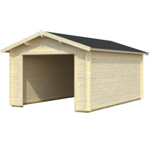 Casetas garajes comprar casas de madera for Garajes modelos