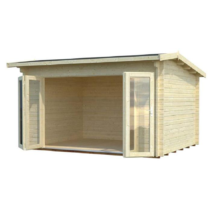 Modelo ines 11 1 comprar casa de madera de 11 1 m2 for Tejados de madera precio m2
