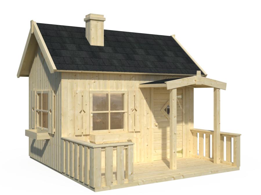 Modelo otto comprar casa de madera de 3 6 m2 - Casetas de madera infantiles ...