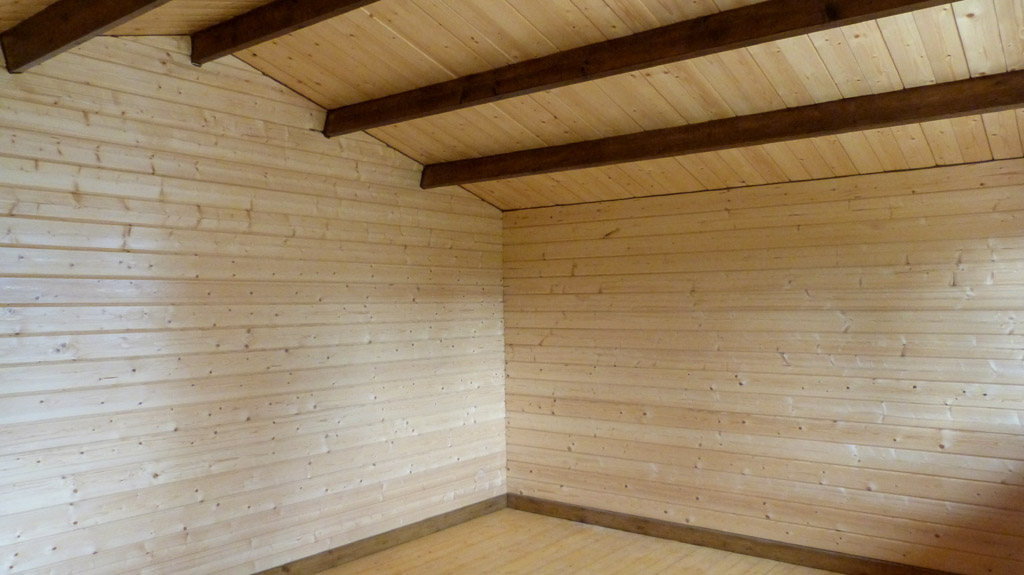Modelo sally 15 5 m2 comprar casa de madera de 15 5 m2 for Tejados de madera precio m2