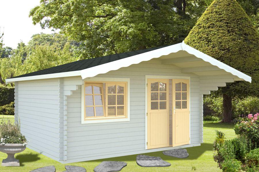 Modelo sally 15 5 m2 comprar casa de madera de 15 5 m2 for Ofertas casetas jardin