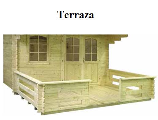Modelo emma 10 4 m2 comprar casa de madera de 10 4 m2 for Tejados de madera precio m2