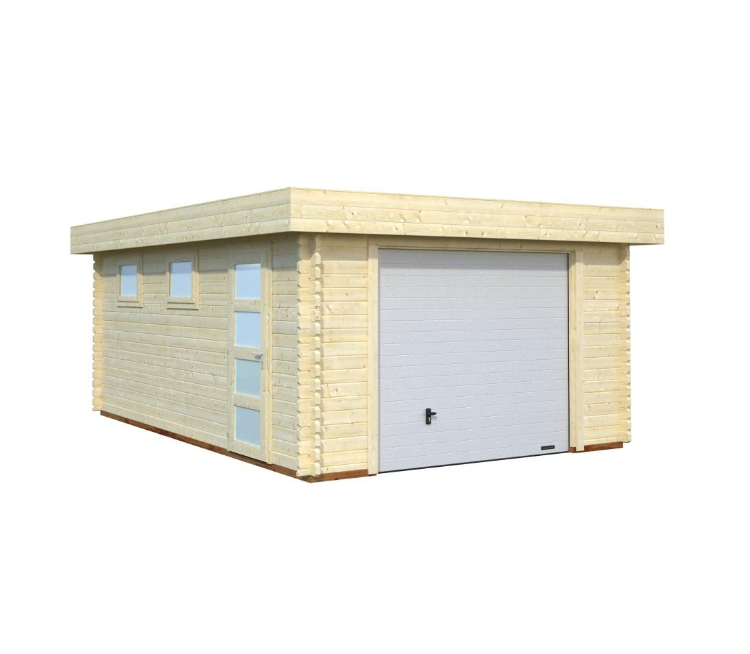 Modelo rasmus 19 0 m2 puerta basculante comprar casa for Garajes modelos