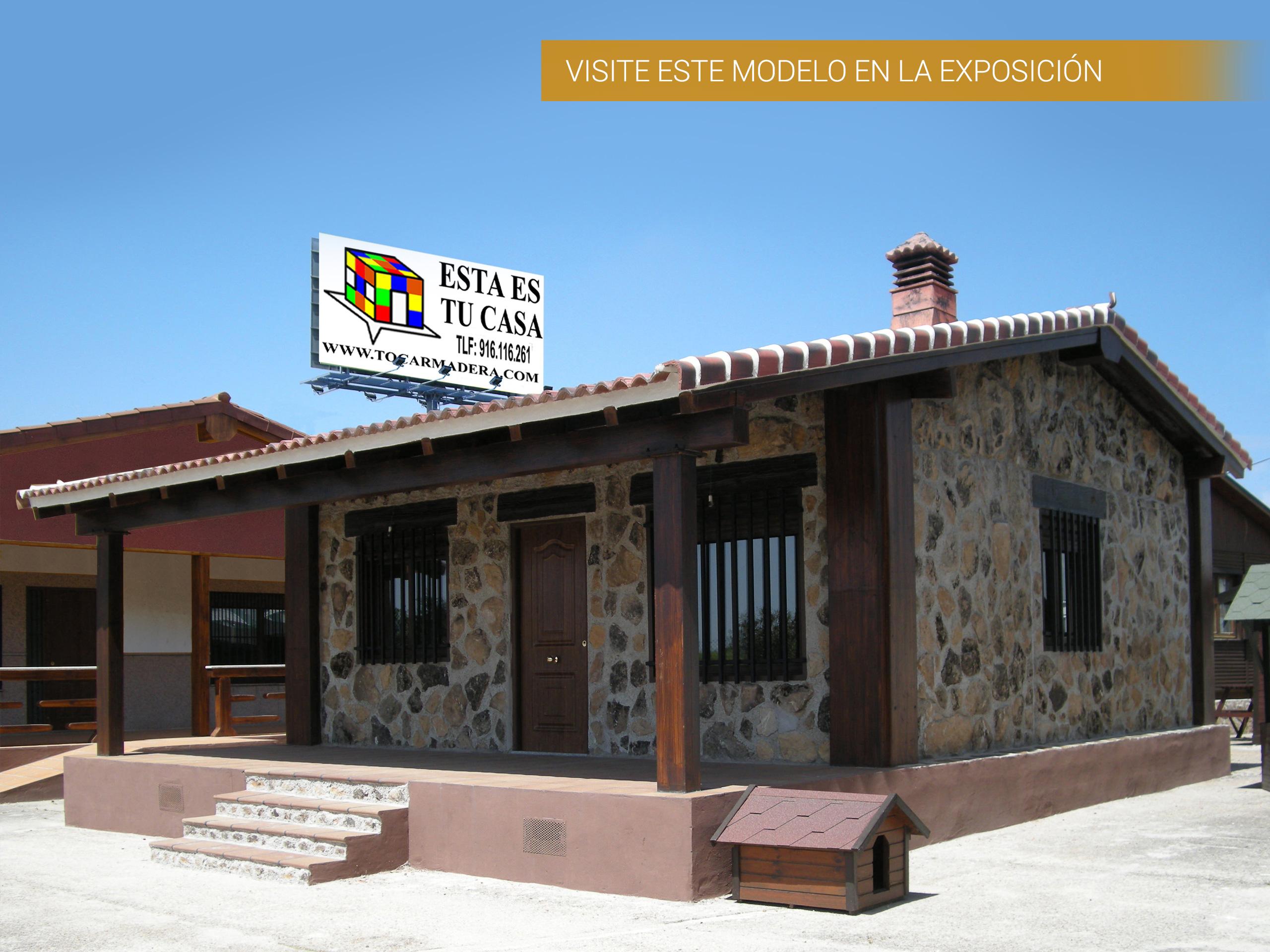 Casa de hormig n acero y piedra modelo rafaela for Modelo banos para casa