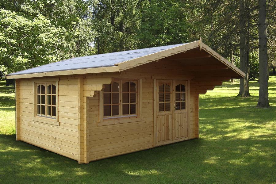 Modelo HELENA 15,1 m2 - Comprar Casa de Madera de 15,1 m2