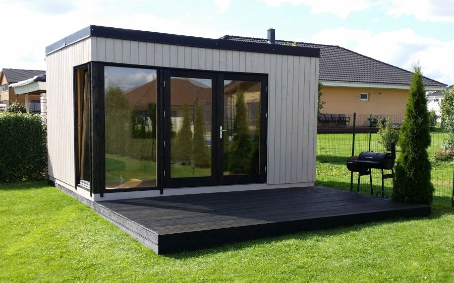 Modelo SOLVEIG 13,6 m2 - Comprar Casa de Madera de 13,6 m2