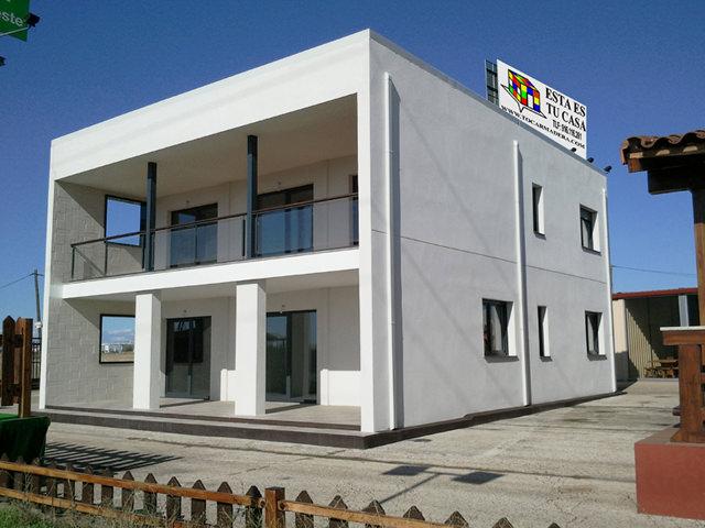 casa prefabricada de hormigon